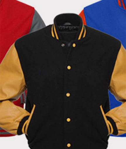 spirit wear varsity jackets