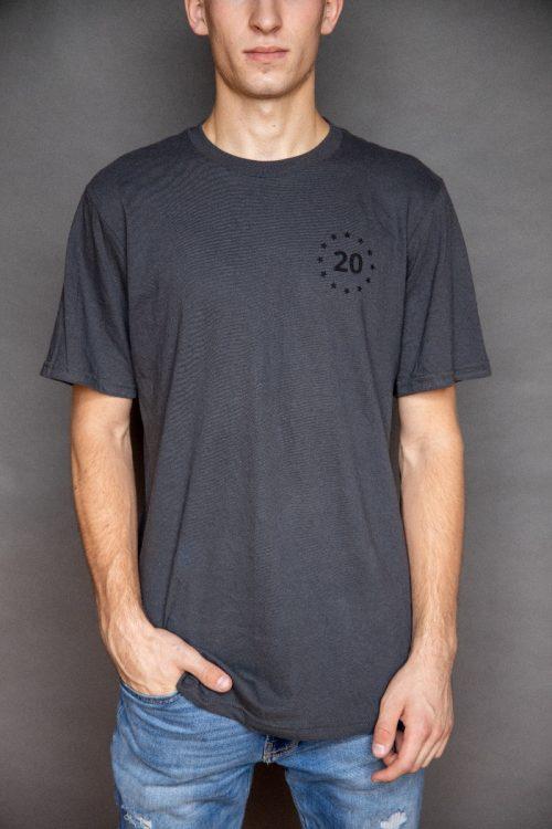 Grey Proud Parent T-Shirt